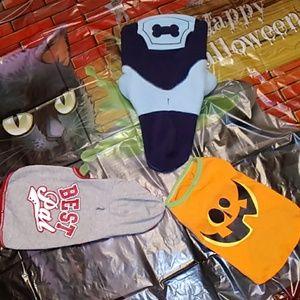 Dog Clothes Hoodies and Halloween Tshirt